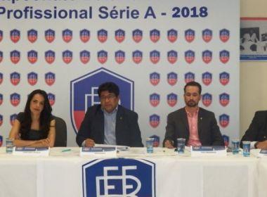 FBF anuncia mudanças na tabela do Baianão; 1ª rodada também é alterada