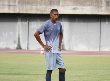 Zagueiro do Atlântico diz que elenco está confiante para duelo com o Bahia