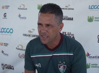 Chiquinho Lima destaca empenho dos jogadores do Flu de Feira no empate com  Bahia a538eb3a96cb8