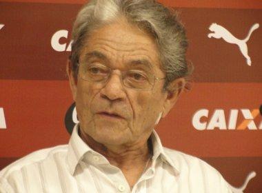 Presidente do Vitória evita falar da ação impetrada pelo Bahia no 'caso Victor Ramos'