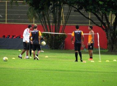 Sem Marinho, Vitória se reapresenta e começa preparação para encarar o Flamengo