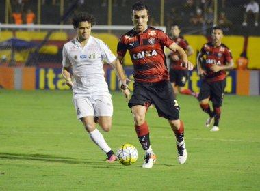 Serginho lamenta revés para o Santos e mira reabilitação diante do Figueirense