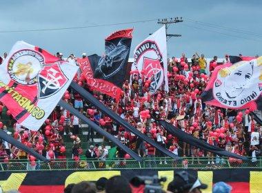 PM pede e CBF muda jogo entre Vitória e Coritiba para Feira de Santana