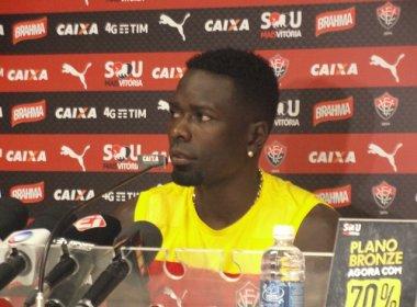 Kanu espera que Vitória corrija erros para voltar a vencer no Campeonato Brasileiro