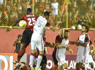Risco de rebaixamento do Vitória sobe para 53,5% após revés diante do Flamengo
