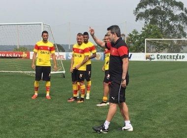 No CT do adversário, Vitória finaliza preparação para enfrentar a Chapecoense