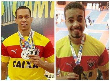 Caratê: Atletas do Vitória conquistam ouro e bronze no Campeonato Brasileiro