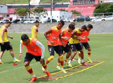 Ainda sem Marinho, Vitória se reapresenta e inicia preparação para pegar o Cruzeiro