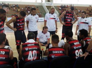 Na estreia da Copa Universo, Vitória vence Caxias por 74 a 54