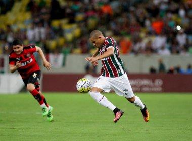 Com erro de arbitragem, Vitória empata com o Fluminense no Maracanã