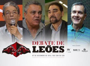 BN, BAR FC e Rádio Sociedade realizam debate com candidatos à presidência do Vitória