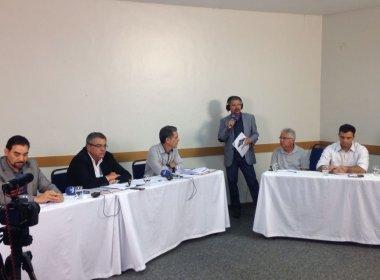 Em primeiro bloco, candidatos do Vitória se apresentam e lamentam ausência de chapa