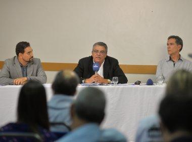Candidatos usam o 3º bloco do debate para falar sobre projetos de futebol do Vitória