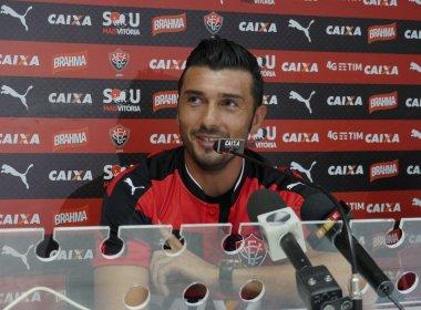 Apresentado, Dátolo pretende seguir exemplo de Escudero para 'abrir portas' no Vitória