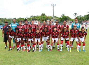 Futebol feminino: Vitória atropela Juventude e fica perto do título estadual