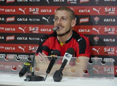 Apresentado no Vitória, Uillian Correia avisa: 'Quero marcar meu nome na história do clube'