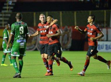 Com gols de David e Kieza, Vitória bate o Conquista no Barradão