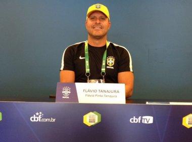 Flávio Tanajura realiza curso de treinadores na CBF