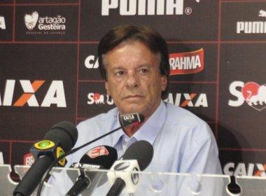 Sinval Vieira praticamente descarta contratação de Lucão: 'Vai ser difícil'