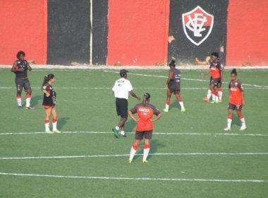 Futebol feminino: Reforços do Vitória fazem exames e aguardam aval por anúncio