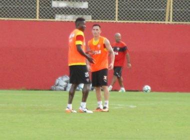 Com Pineda no time titular, Vitória fecha preparação para pegar o Bragantino