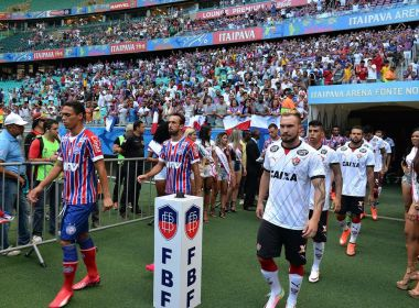 Vitória tem melhor ataque entre clubes da Série A; Bahia possui defesa menos vazada