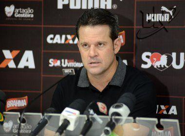 Argel fala sobre empate e explica rodízio de jogadores no Vitória