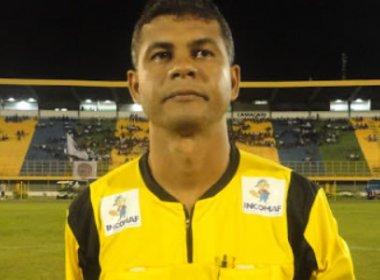 Gleidson Santos Oliveira apita duelo entre Galícia e Vitória