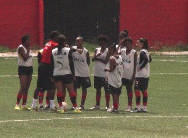 Futebol feminino: Vitória realiza promoção para estreia no Brasileiro contra o Flamengo