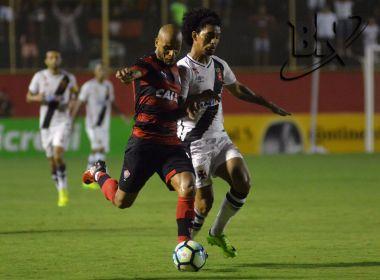 Vitória supera o Vasco e se classifica para a próxima fase da Copa do Brasil