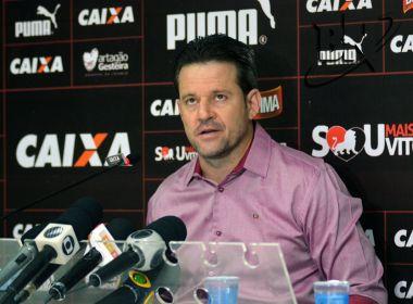 Argel exalta exibição do Vitória diante do Vasco: 'A gente fez uma partida convincente'