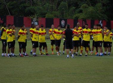 Técnico, tático e bola parada: Vitória finaliza preparação para pegar o Jacuipense