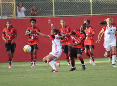 Com duas rodadas, clubes baianos amargam lanterna do Brasileirão Feminino