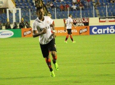 David celebra gol marcado contra o Sergipe: 'Consegui acertar um belo chute'