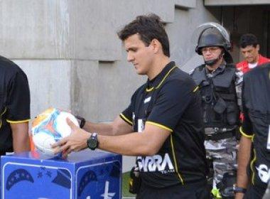 Caio Max Augusto Vieira comanda confronto entre River-PI e Vitória