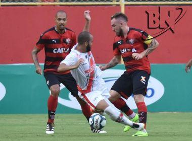 Com apagão no Barradão, Vitória vence River e se classifica para semifinais do Nordestão