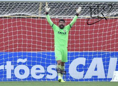 Fernando Miguel exalta foco do Vitória: 'Não pensamos em sentar no regulamento'