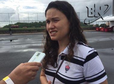 Larissa Dantas vê novo estatuto do Vitória como 'marco na história do clube'