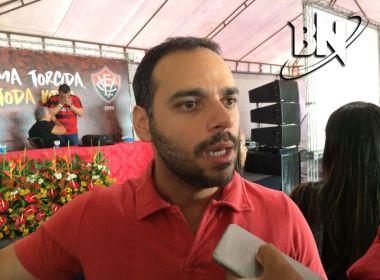 Vasconcelos vibra com aprovação das diretas e destaca 'unidade' no Vitória