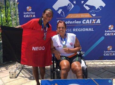 Mônica Veloso celebra conquista de medalhas no Circuito Norte-Nordeste Paralímpico