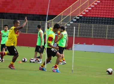 Com reservas em destaque, Vitória relaciona 21 jogadores contra o Fluminense de Feira