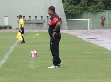 Copa do Brasil Sub-20: Técnico do Vitória pede objetividade para estreia contra Santa Cruz