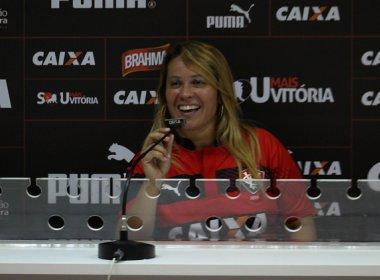Verônica Almeida é escolhida para ser musa do Vitória no Campeonato Baiano