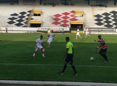 Vitória bate Santa Cruz e se classifica para a próxima fase da Copa do Brasil Sub-20