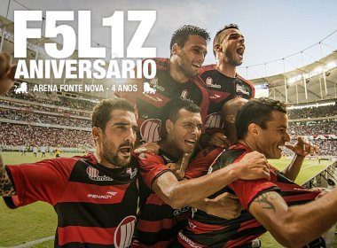 Vitória parabeniza Arena Fonte Nova e alfineta o Bahia antes do clássico