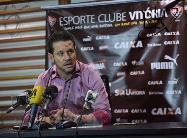 Argel destaca Ba-Vi 'intenso' e enaltece campanha do Vitória no Campeonato Baiano