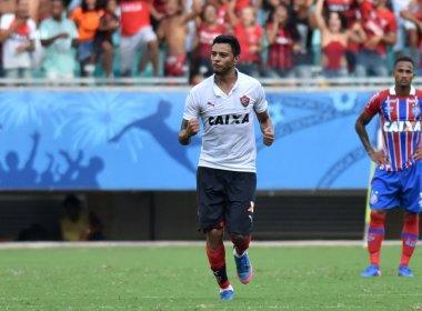 Cleiton Xavier vibra com gol marcado no clássico: 'Dá moral'