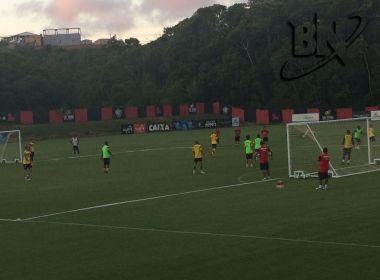 Argel realiza treino movimentado na Toca do Leão; Flávio se reapresenta