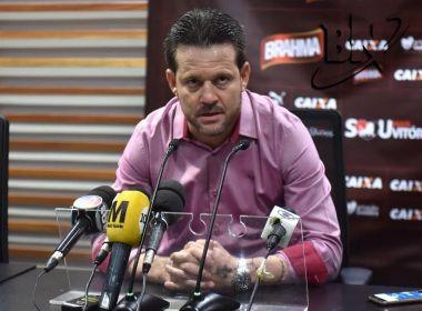 Argel Fucks garante Vitória vivo na Copa do Brasil: 'Ninguém escutou bater o sino'
