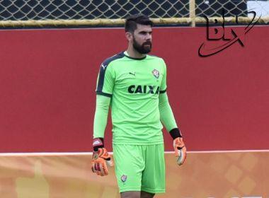 Contra o Conquista, Fernando Miguel completará 100 jogos com a camisa do Vitória